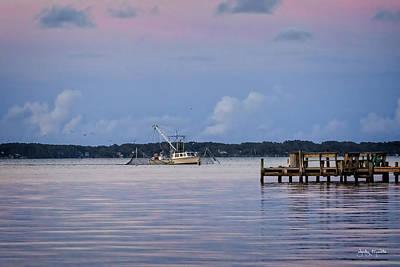 Photograph - Working The Water by Jody Merritt
