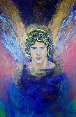Painting - Working With Archangels by Alma Yamazaki