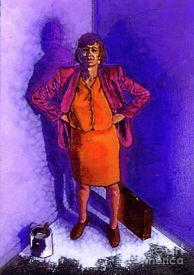 Working Women Standing Art Print