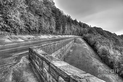 Photograph - Workmanship The Retainer Wall Great Smoky Mountain Parkway Art by Reid Callaway