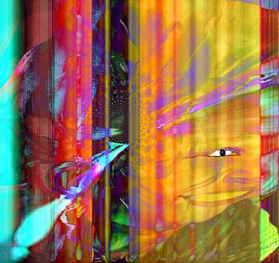 Image Transfer Mixed Media - Works Of The Spirit by Fania Simon