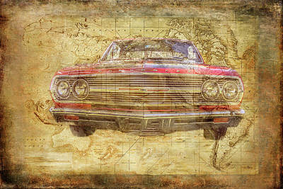 Digital Art - World Class Chevy by Ramona Murdock