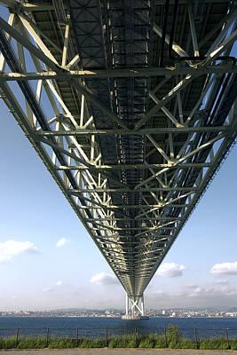 World Class Suspension Bridge - Japan Art Print by Daniel Hagerman