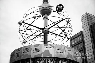 Photograph - World Clock by John Rizzuto