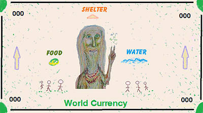 Digital Art - World Currency by Jim Taylor