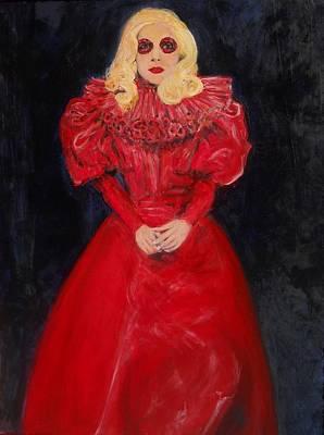 Gaga Painting - World Dominatrix by Gerald Hubert