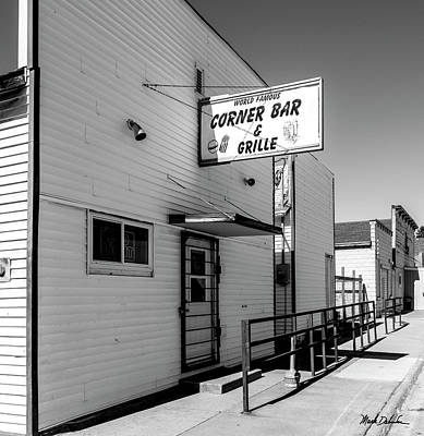 Photograph - World Famous Corner Bar And Grille by Mark Dahmke