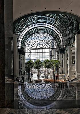 World Financial Center Nyc Art Print by Robert Ullmann