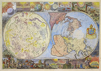 Photograph - World Map From 1699 by Ricky Barnard