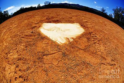Homeplate Photograph - World Of Baseball Home Plate by Lane Erickson
