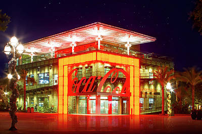 Buena Vista Photograph - World Of Coca Cola At Disney Springs by Mark Andrew Thomas