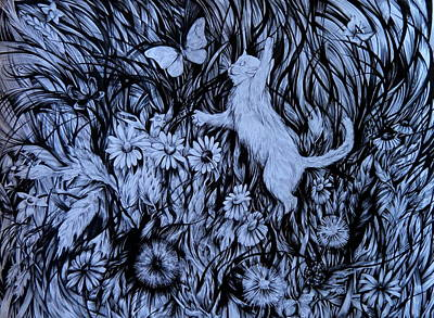 World Of Joy Art Print by Anna  Duyunova