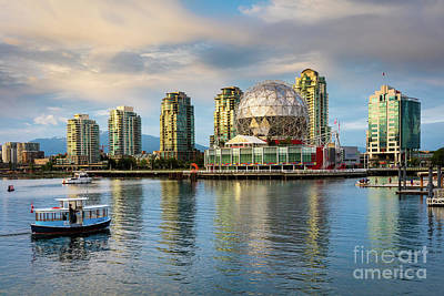 British Columbia Photograph - World Of Science by Inge Johnsson