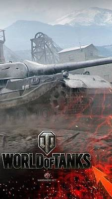 Wg Digital Art - World Of Tanks Wargaming Net Wot The Second Campaign Heavy Tank Vk 72 01 K Global Map Wg 93876 300x532 by Anne Pool