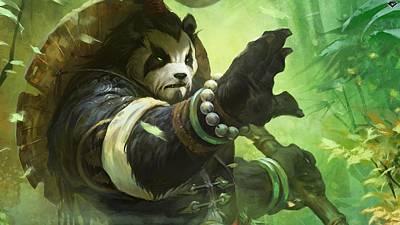 Pandaria Digital Art - World Of Warcraft Mists Of Pandaria by Dorothy Binder