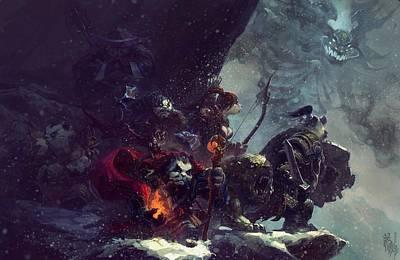 Pandaria Digital Art - World Of Warcraft Mists Of Pandaria by Karoly Lehar