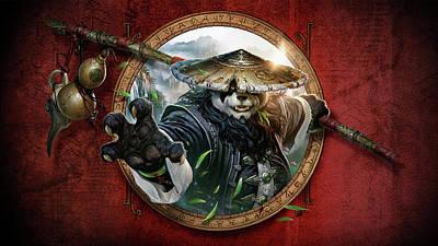 Pandaria Digital Art - World Of Warcraft Mists Of Pandaria by Lissa Barone