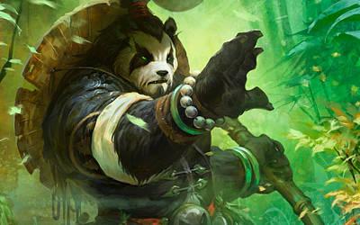 Pandaria Digital Art - World Of Warcraft Mists Of Pandaria by Lonna Egleston