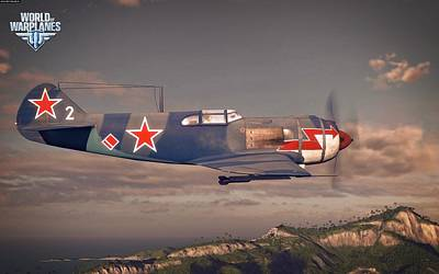 Airplane Digital Art - World Of Warplanes by Super Lovely