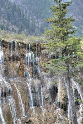Photograph - World Of Waterfalls China by Bill Hamilton