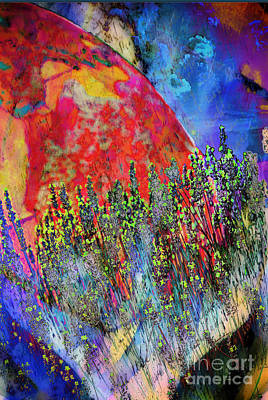 Digital Art - World On Display by Gina Geldbach-Hall