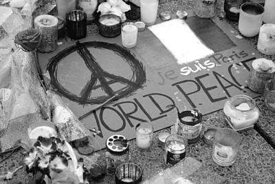 Photograph - World Peace by Valentino Visentini