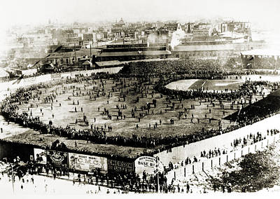Pittsburgh Pirates Photograph - World Series, 1903 by Granger