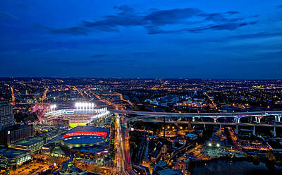 By Jackie Photograph - World Series Game 7 by Jackie Sajewski