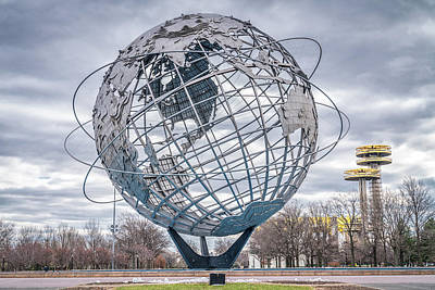 Photograph - World Sphere by Framing Places
