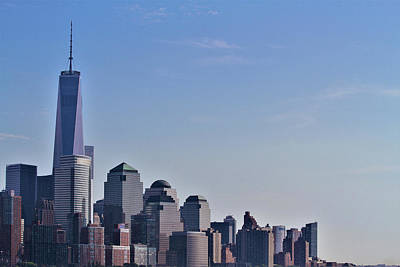 Photograph - World Trade Center by Andrew Verdi