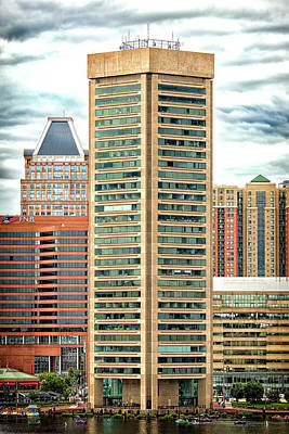 Photograph - World Trade Center In Baltimore Maryland by Bill Swartwout