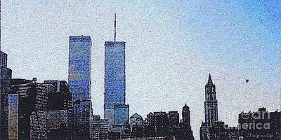 Photograph - World Trade Center Once Upon A Time... by Mariana Costa Weldon