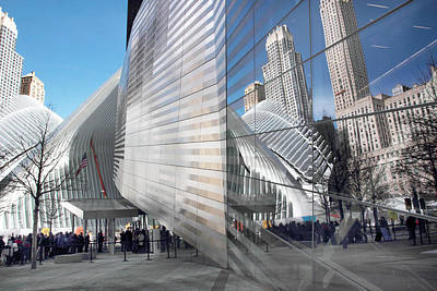 World Trade Center Plaza Art Print by Jessica Jenney