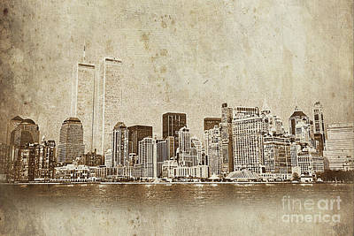 World Trade Center - Wtc Original by Gull G