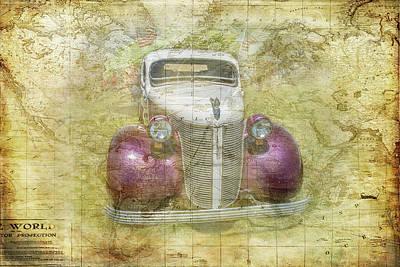 Digital Art - World Traveler by Ramona Murdock