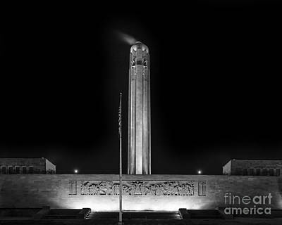 Photograph - World War 1 Liberty Memorial by Dennis Hedberg