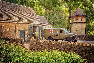 Photograph - World War 2 Ambulance by Susan Rissi Tregoning