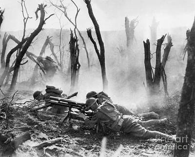 Photograph - World War I: Battlefield by Granger