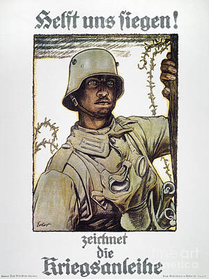 Painting - World War I: German Poster by Granger