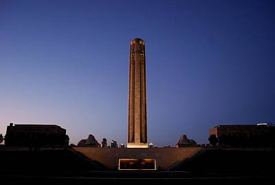 Photograph - World War I Memorial - Kansas City by Matt Harang