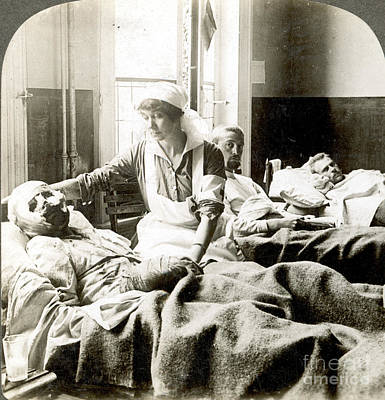 Photograph - World War I: Nurse by Granger