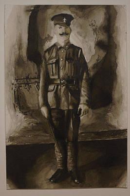 World War I Officer Original