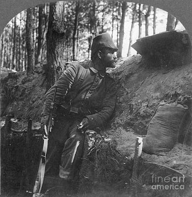Photograph - World War I: Soldier by Granger