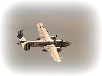 Photograph - World War II B25 Mitchell Bomber by David Dunham