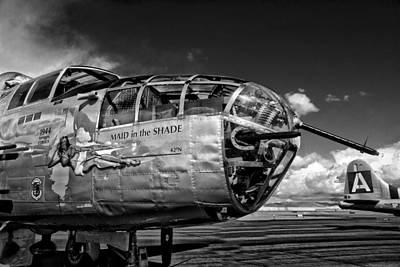 Photograph - World War II Bomber by Richard Gehlbach