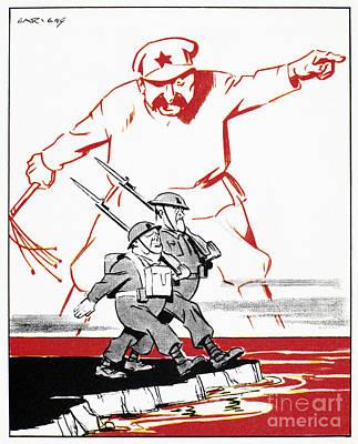 Stalin Photograph - World War II: Cartoon, 1944 by Granger