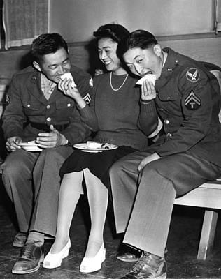 1940s Candid Photograph - World War II, Corporal Frank N by Everett