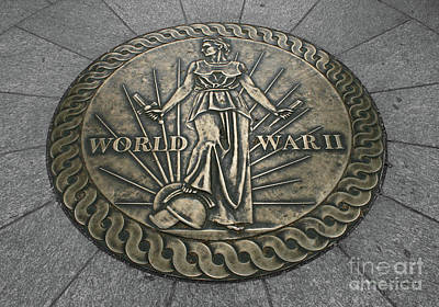 Photograph - World War II Marker by E B Schmidt