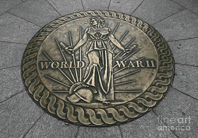 Photograph - World War II Marker by E B Schmidt