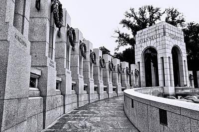 Photograph - World War II Memorial # 4 by Allen Beatty